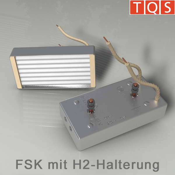 Cassette heater with H2-Mounting – Type FSK
