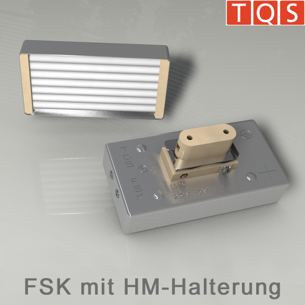 Cassette heater with Mounting HM – Type FSK