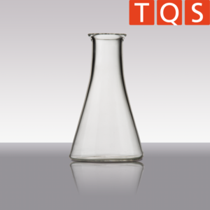 Quartz glass Erlenmeyer flasks