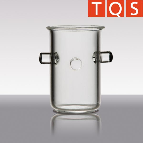 Quarzglas-Rademacher-Verbrennungstiegel