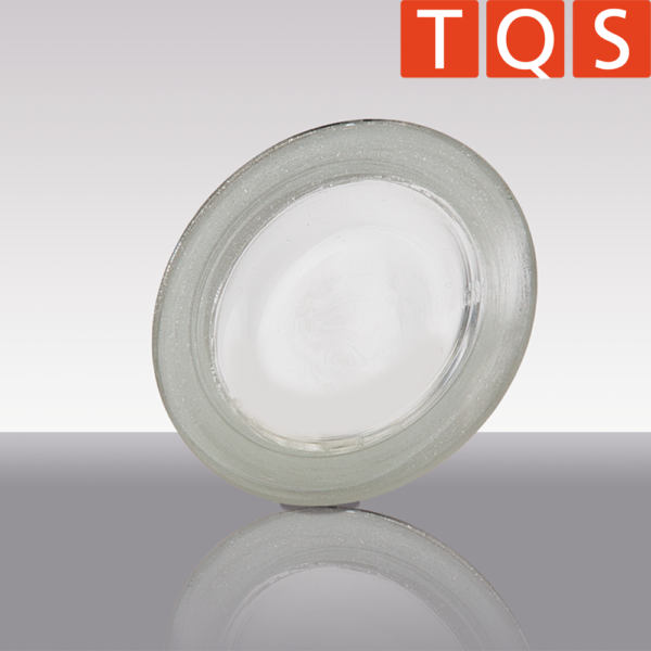 Quartz glass lid for Rademacher inceneration crucible