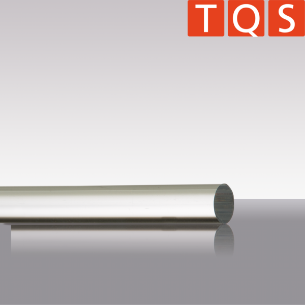 Quartz glass rod, 1m length