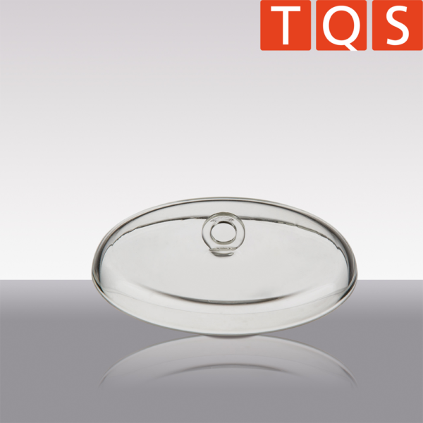 Quartz Glass Crucible lid with ring handle