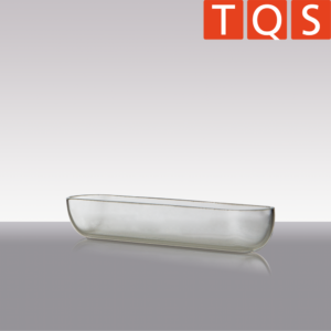 Quartz Glass - Combustion boat without handle