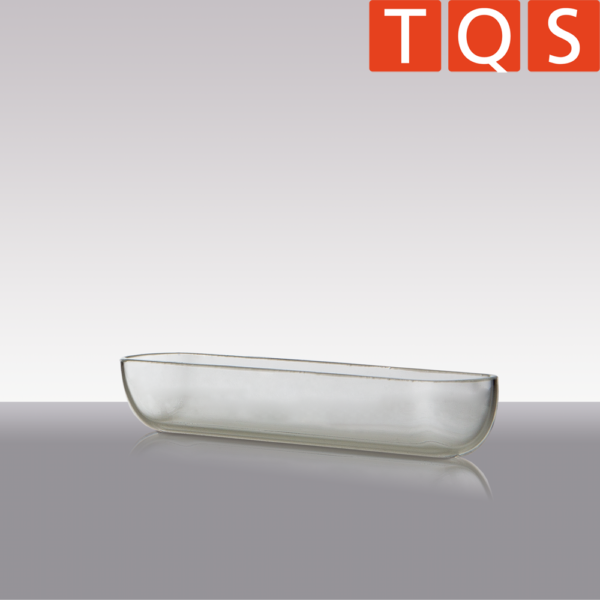 Quartz Glass – Combustion boat without handle