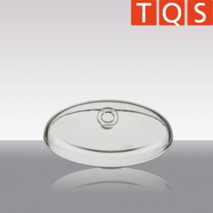 Quarzglas-Verbrennungstiegel-Deckel