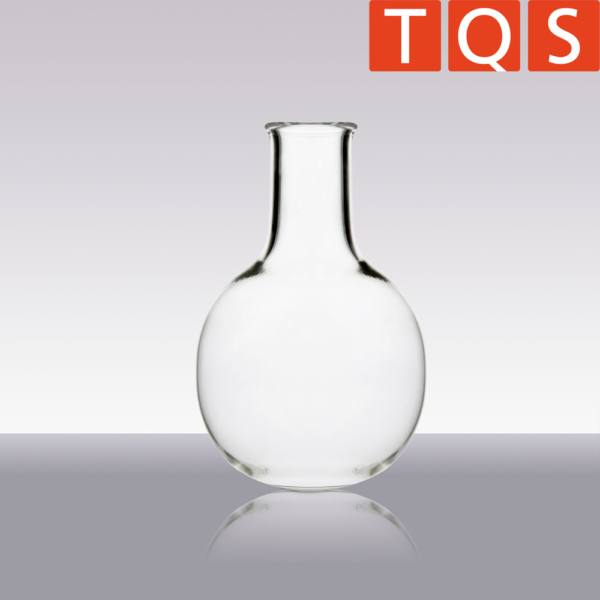 Quartz glass round flask