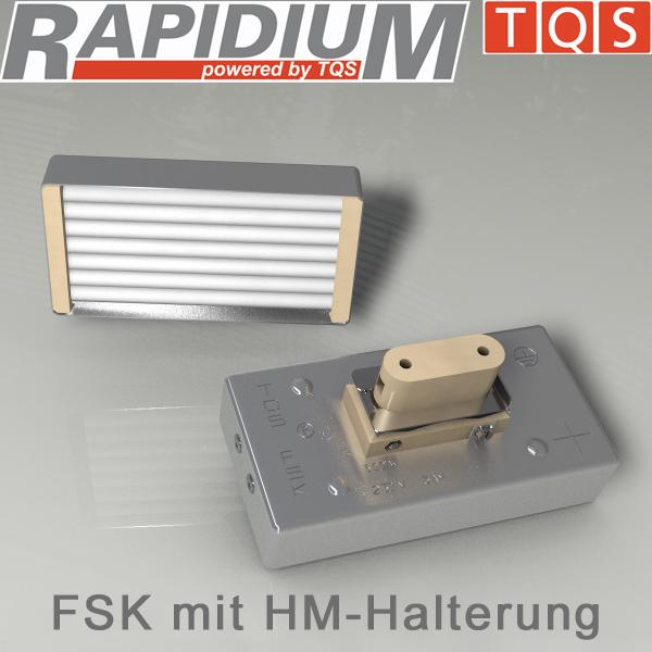 Hochleistungs-Infrarot-Flächenstrahler mit Halterung HM – Typ FSK