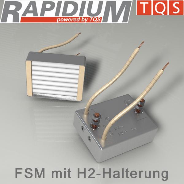 Hochleistungs-Infrarot-Flächenstrahler mit H2-Halterung – Typ FSM