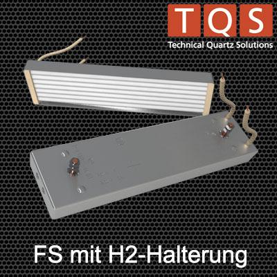 Hochleistungs-Infrarot-Flächenstrahler mit H2-Halterung – Typ FS