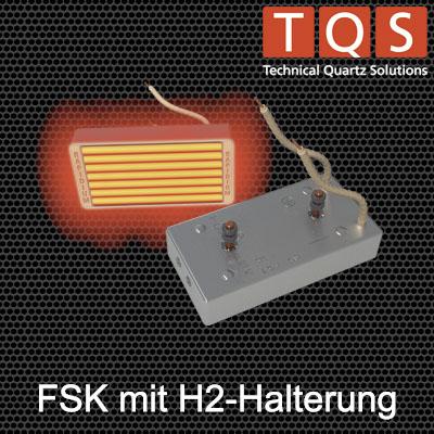 Hochleistungs-Infrarot-Flächenstrahler mit H2-Halterung – Typ FSK